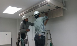 Đội ngũ kỹ thuật sửa chữa điều hòa Thanh Hóa chuyên nghiệp.